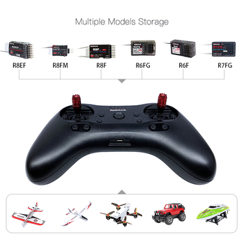 Radiolink T8S 8CH Radio Controller Transmitter 2.4G and R8EF or R8FM Receiver Handle Gamepad for Fixed Wing FPV Drone Airplane 4