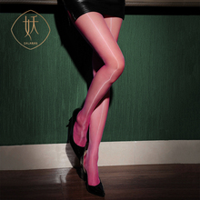 Aurora Series Seamless 360-Degree Crotch Toe Transparent Stockings Pantyhose Deautiful High Waist Ultra-Thin Shiny Silky