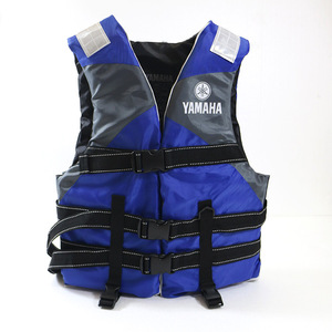 Hot sell life vest Outdoor rafting yamaha life jacket for swimming snorkeling wear fishing Professional drifting child adult(China)