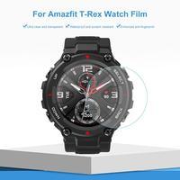 Protector de pantalla HD para reloj Amazfit T-REX, película protectora completa de hidrogel TPU Nano, membrana suave, 2 uds.