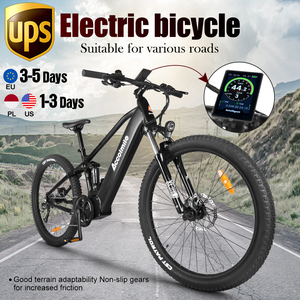 2020 Best Electric Bike 48V 750W Bafang Mid Motor E Bicycle Mountain E-bike 27.5inch eBike With 12.8Ah LG Battery for Adult Men