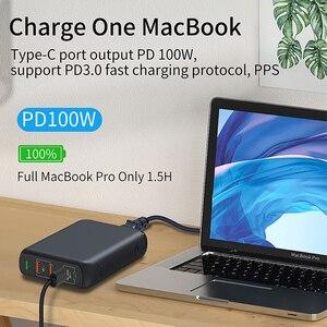 URVNS 150 Вт PD QC 4,0 3,0 GaN быстрое зарядное устройство с двойным типом C 100 Вт PPS Быстрая Зарядка адаптер для MacBook Pro,Lenovo, iPhone,Galaxy