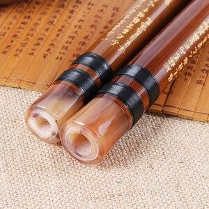 Instrument de musique chinois traditionnel flûte de bambou à la main G/F/E/D/C clé Dizi + sac de flûte + colle de flûte + Membrane de flûte(China)