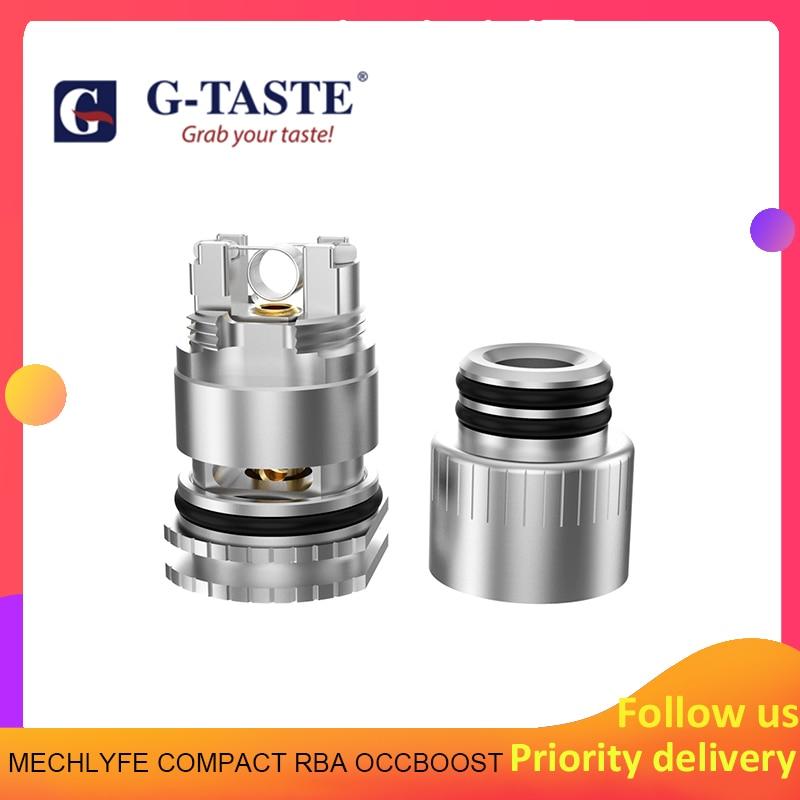 1pcs/pack G-taste MECHLYFE COMPACT RBA OCCBOOST Coil Head For  Geekvape Aegis Boost Pod Systems Kit