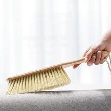 1 шт буковая деревянная щетка для пыли домашних животных ручная