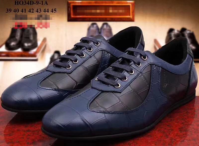 Billionaire Autumn And Winter Shoes  Men's Shoes Fashion Casual Men's Casual Shoes   Leather Cowhide  Casual Shoes
