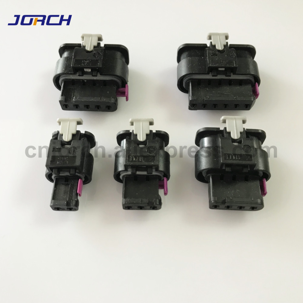 5sets 2/3/4/5/6 Pin Auto VW Audi Female Electrical Connector 1718653-1 1-1924067-4 1-1718806-1 1718657-1 1-1718645-1 4F0973706