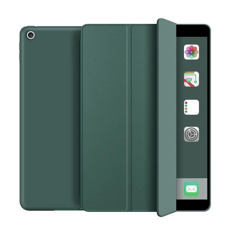 Dark green DarkCyan For iPad 10 2 inch 8th 2020 model A2270 Tablet Case for iPad 10 2 inch