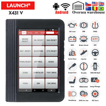 Launch Diagnostic X431 V OBDII Diagnostic Tool With 11 Special Function WiFi/Bluetooth x431 pro Update Free Launch X431 Scanner - DISCOUNT ITEM  27% OFF All Category