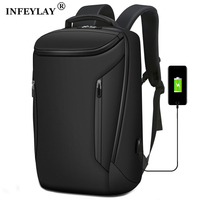 2020 NEW Business Backpack 15.6inch USB Recharging Laptop Man Backpack Anti Theft Men Backpack Teenage Backpack Bag Male Mochila|Backpacks|   -