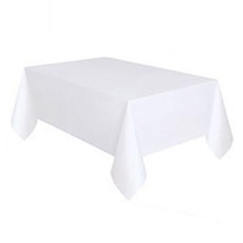 1pc Disposable Birthday Waterproof Tablecloth Princess Kids Happy Birthday Party Plastic Wipe Clean Tablecover Supplies