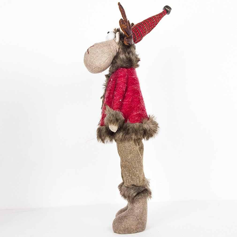 Creative חדש חג המולד איילים בובת מתנת תיק ערב חג המולד שלום אפל פירות שקיות תליית בית תפאורה לשנה חדשה