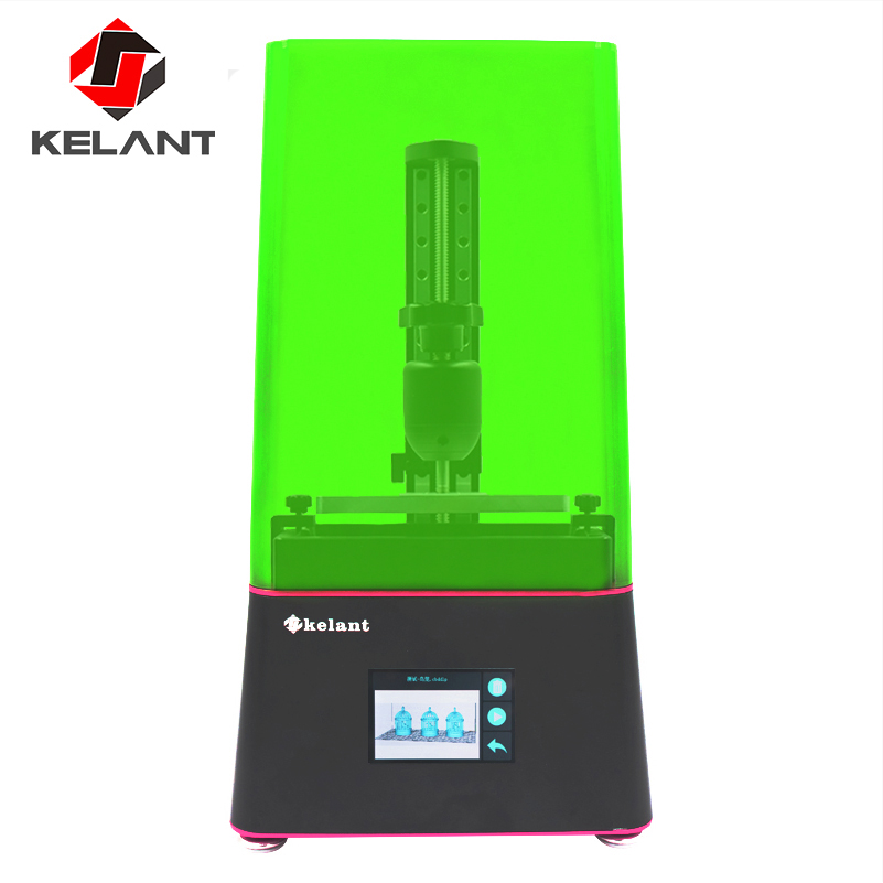 Kelant Flare d200s SLA 3D Printer Pro dental jewelry impressora 2560 1440 UV Resin 405nm 2k LCD screen 6   DLP 3d printers
