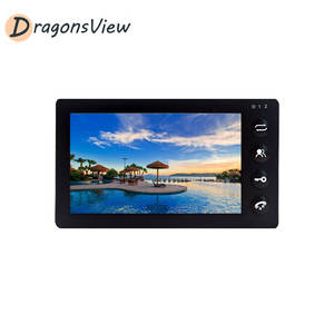 Indoor-Monitor Phone-Intercom-System Recording with Motion-Detection for Video-Door Dragonsview