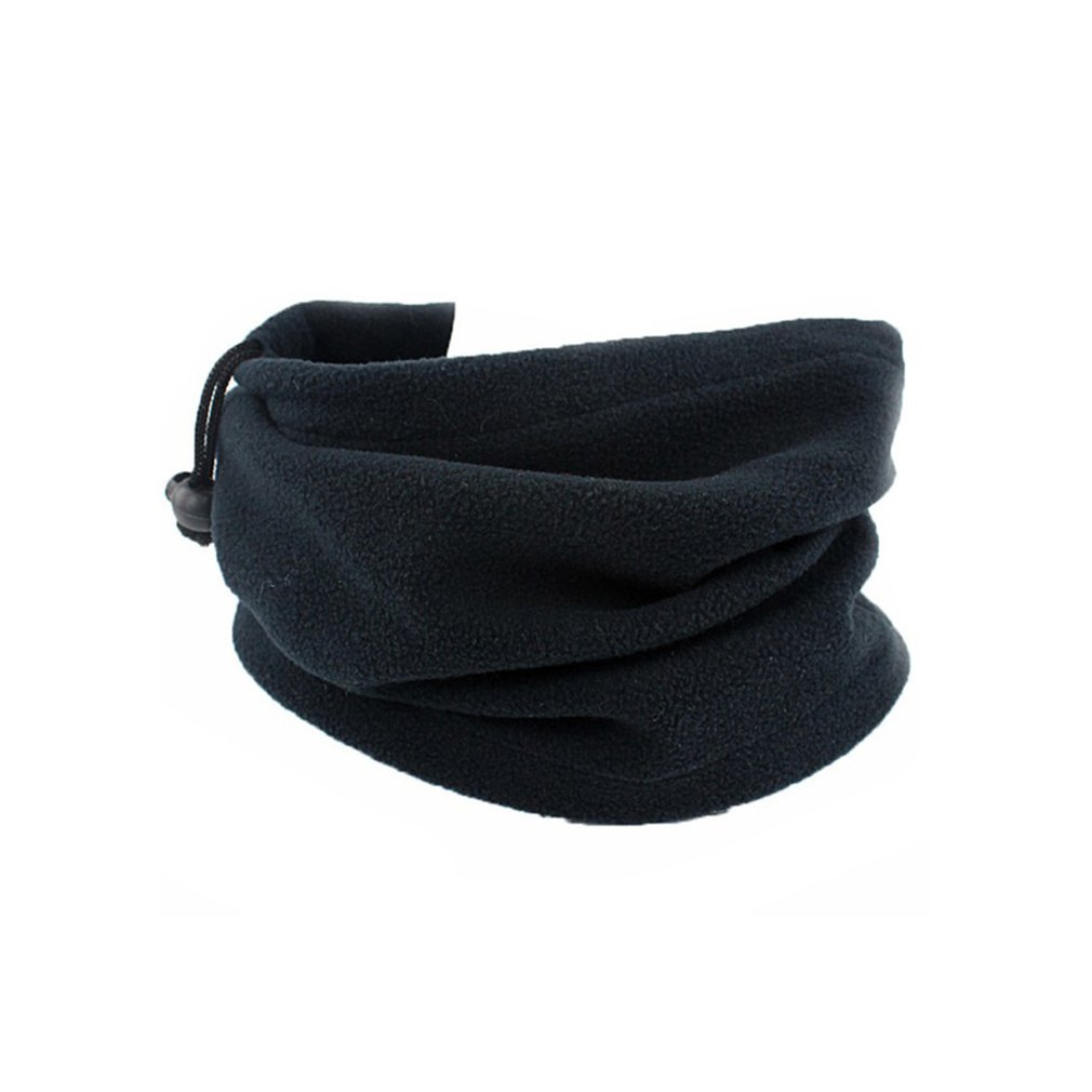 Outdoor Sports Riding Warm Windproof Cap Scarf Double Deck Winter Hat Scarf Multifunction Thick Man Woman Scarf