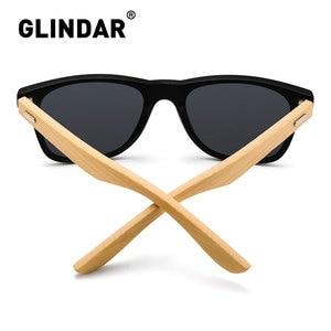Image 3 - Çizgili çerçeve Retro ahşap polarize güneş gözlüğü marka tasarım erkekler kadınlar Retro güneş gözlüğü sürüş lentes de sol
