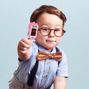 Image 2 - Baby Finger Pulse Oximeter Pediatric Oximetro De Dedo SpO2 Children Kids Fingertip Pulsioximetro Handheld Digital PR Counter LED