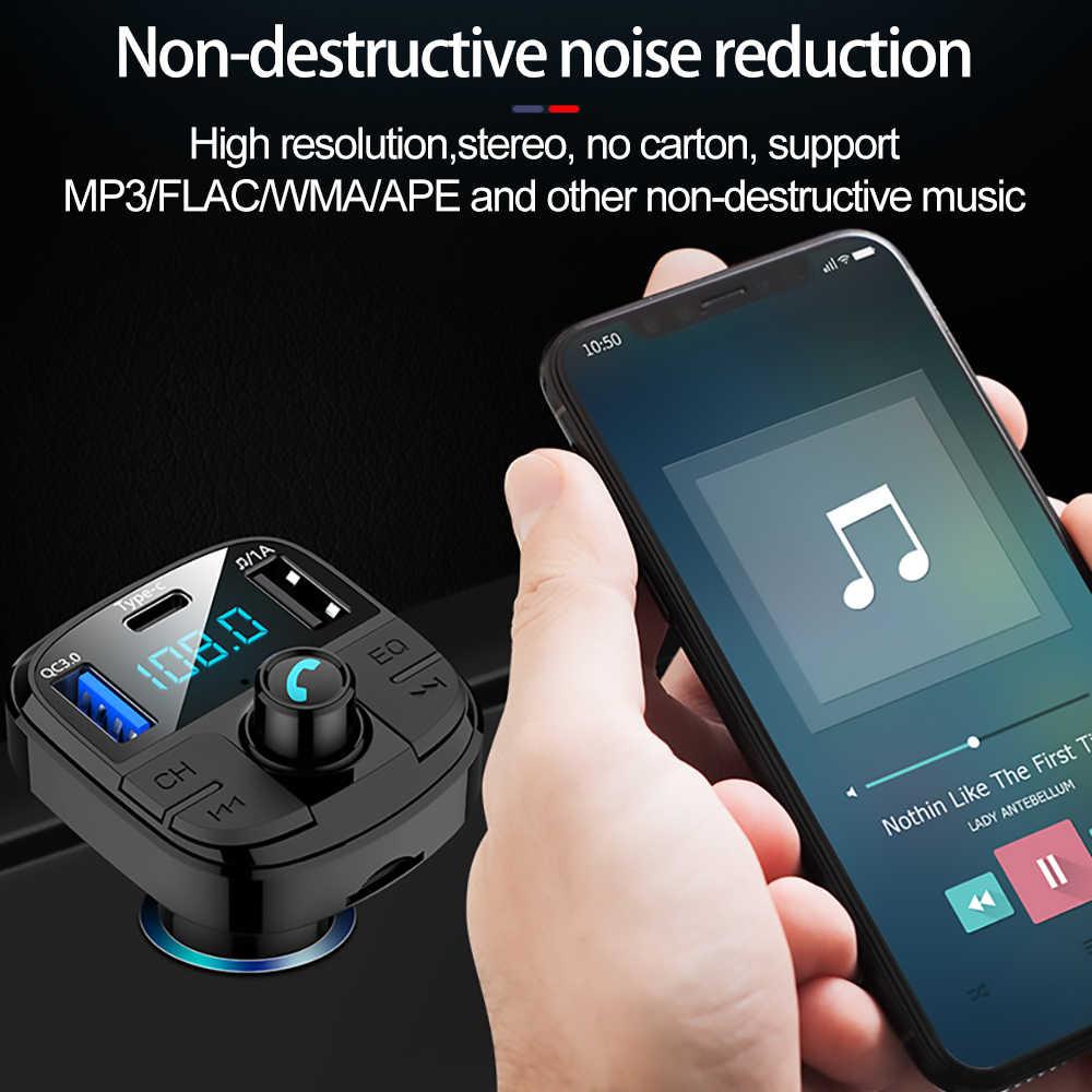 רכב MP3 נגן משדר FM USB מהיר מטען סוג C טעינה QC3.0 עבור מאזדה 3 6 CX-5 323 5 CX5 2 626 ספוילרים MX5 CX 5 GH CX