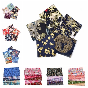 5pcs 20x25cm Japanese Cotton Fabric Bundle For Patchwork, Sewing Dolls & Bags Needlework Cloth Quilting Material