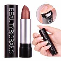 BeautyBigBang Matte Lippenstift Wasserdicht Make-Up Kosmetik Pigment 12 Farben Lange Anhaltende Metallic Lip Stick Batom
