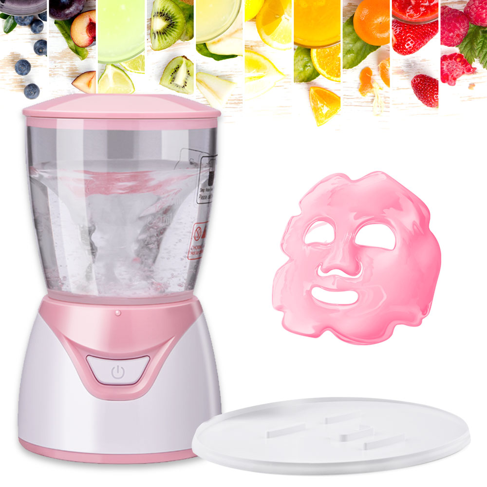 Мини автоматическая фруктовая маска для лица, сделай сам, натуральная коллагеновая маска для лица, устройство для масок, красота, спа, уход з...