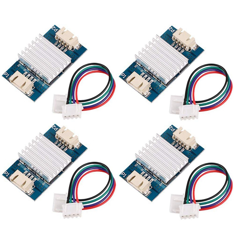 4Pcs TL-Smoother Module Heatsink With Du-Pont Wire Kits For Pattern Elimination Motor Filter Clipping Filter 3D Printer Motor Dr