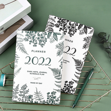 Agenda 2022 Planner Stationery Organizer Kawaii A5 Notebook and Journal Weekly Notepad Diary 365 Day Sketchbook School Note Book