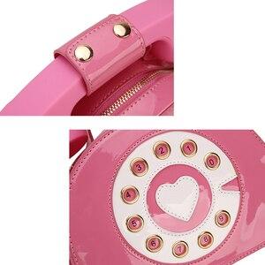 Image 5 - חדש עיצוב כיף בציר מתוקה טלפון סגנון נשים ארנקי תיקי כתף תיק 2020 אופנה Crosbody תיק לילדה