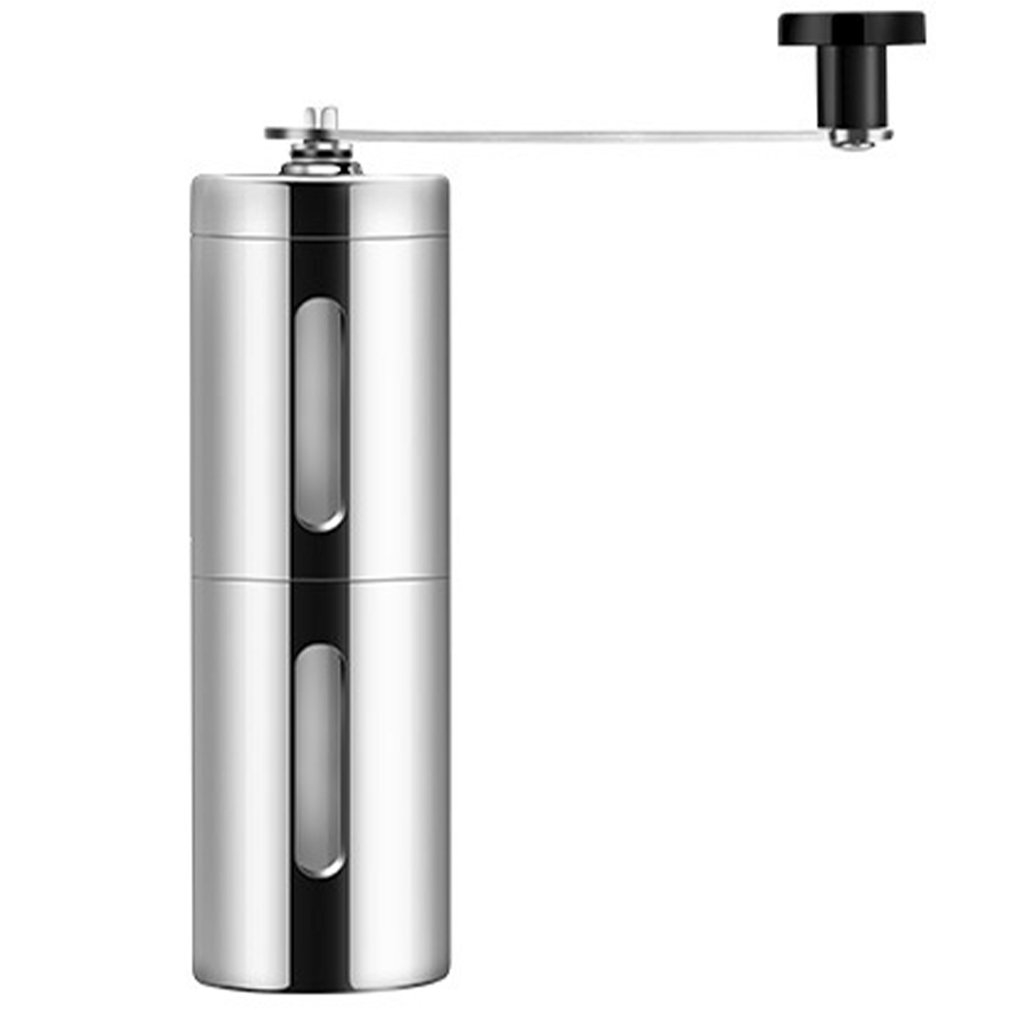 Hand Coffee Grinder Manual Coffee Portable Grinder Adjustable Ceramic Coffee Bean Mill Stainless Steel Kitchen Mills Tools