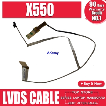 Free Shipping new X550 LVDS CABLE For Asus X550 X550C X550CC X550VC X550VB X550CL Y581C X552C A550C K550C F550C 40p to 40p