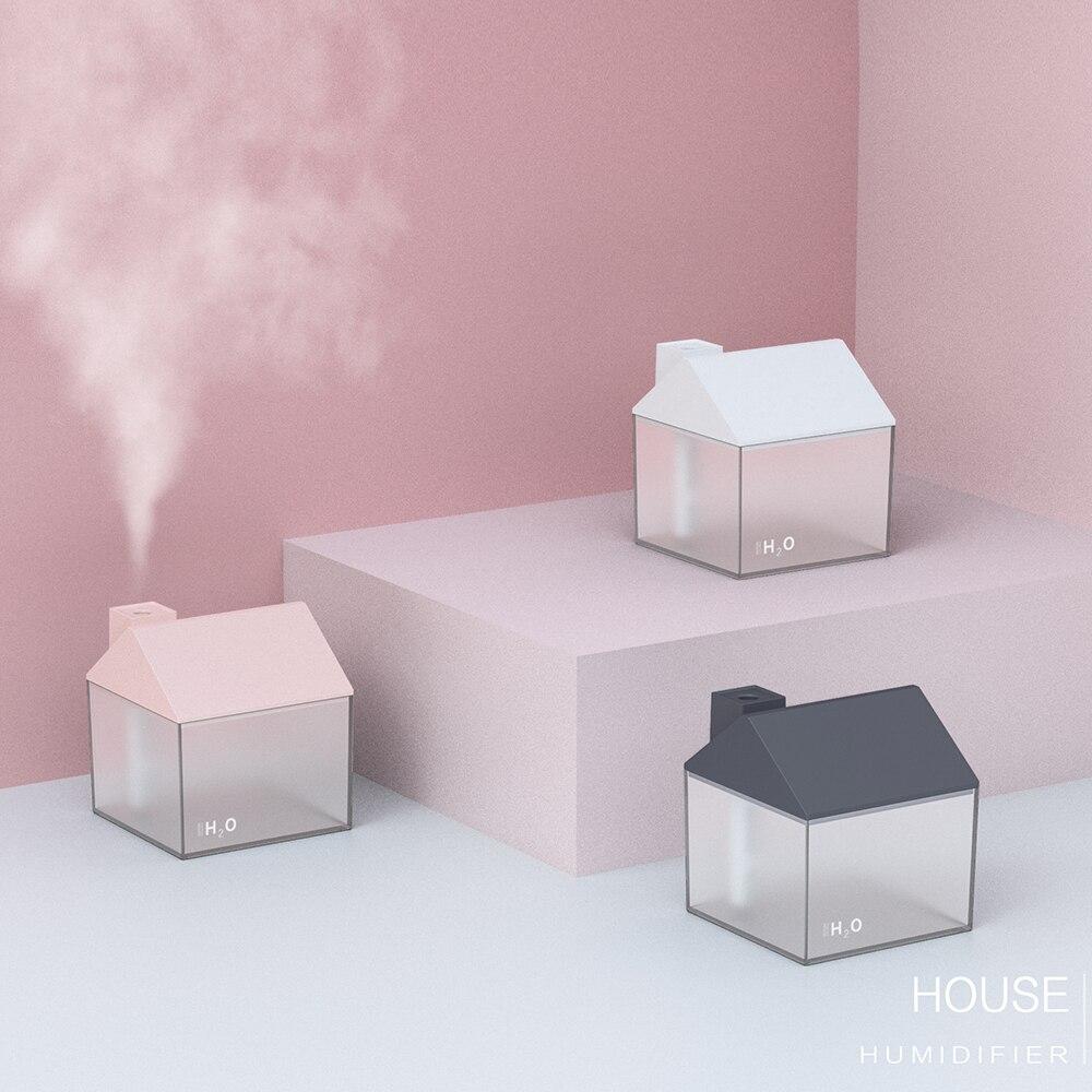 Humidificador de aromas con forma de casa 2
