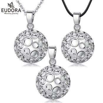 Шар для беременных EUDORA, 22 мм, специальный дизайн, подвеска в виде шара колокольчика для беременных, ожерелье с подвеской в виде шара гармония, Bola Angel, ювелирные изделия для звонков B296