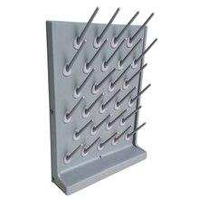 X001 Drying Rack Peg Board Polypropylene Color grey Drain Rack , 550mm * 440mm * 11.5 mm