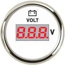 52MM Gauge Voltmeter 8-32V Volt Meter Auto Universal Spannung Für Marine Boot Automobil Lkw Motorrad Zubehör 12V 24V