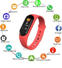 M5 Smart Watch Women Bluetooth Call/Music Smart Band Waterproof Heart Rate Blood Pressure Men Health Wristband Smart Bracelet