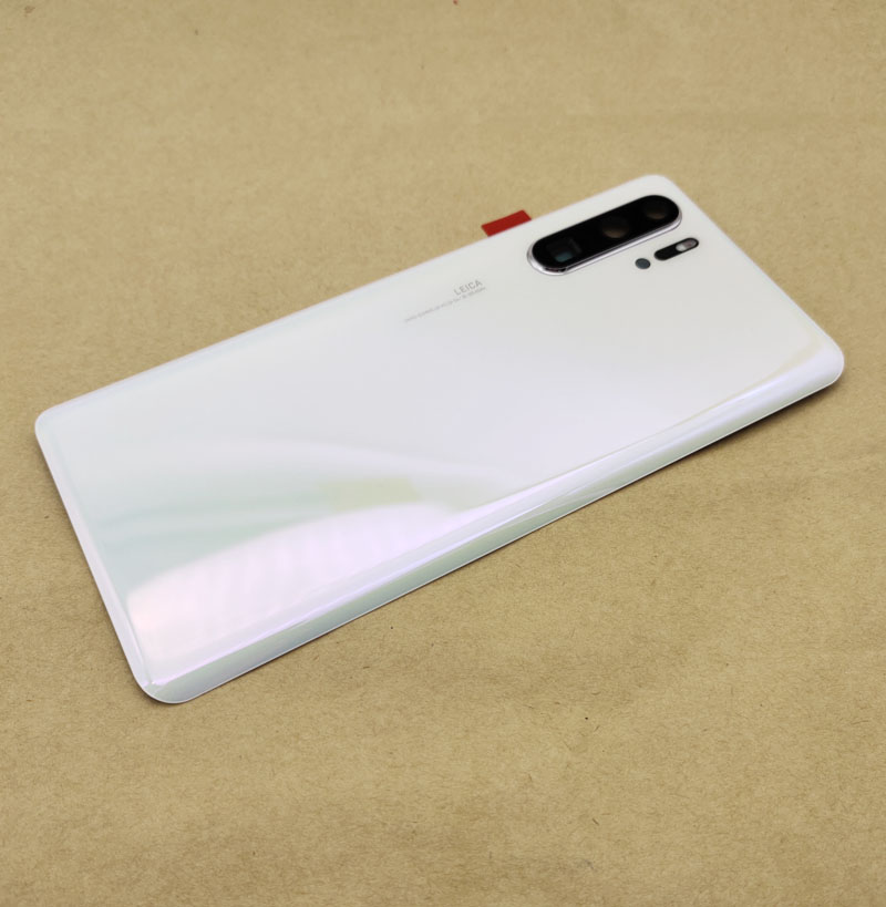 For <font><b>Huawei</b></font> Nova4e <font><b>P30</b></font> <font><b>p30</b></font> pro <font><b>battery</b></font> <font><b>cover</b></font> Back Glass Door Housing <font><b>P30</b></font> Lite Glass <font><b>Battery</b></font> <font><b>Cover</b></font> Door Replacement Parts image