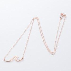 Простые ожерелья из нержавеющей стали FENGLI для женщин, Пляжная морская цепочка, подвеска ручной работы, вечерние, свадебный подарок