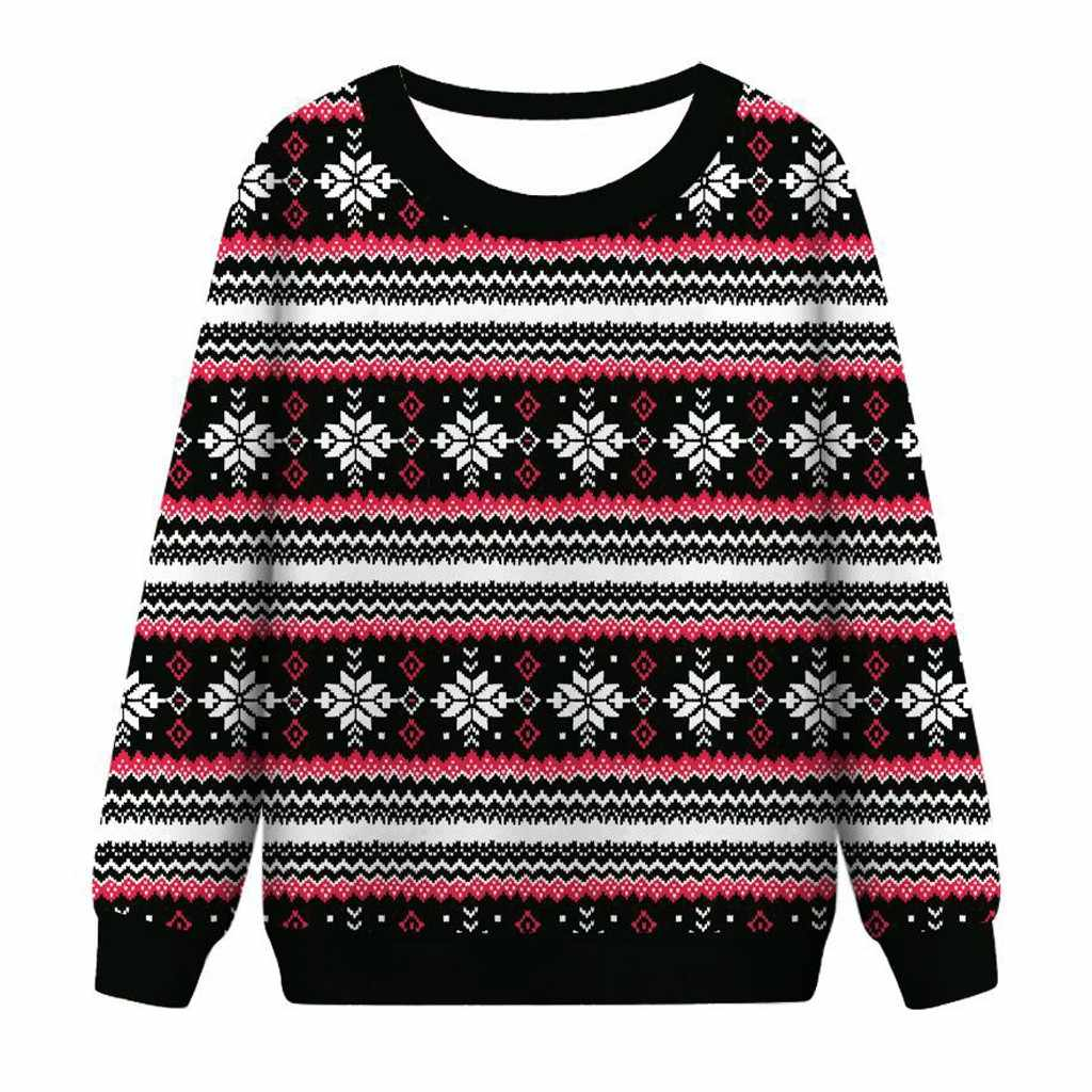 Christmas Women Clothes Funny Print Christmas Fashion sudaderas mujer bluzy damskie Sweatshirt Crewneck Various Design Tops