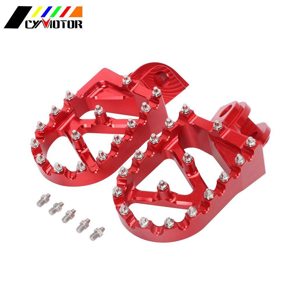 Motorcycle Foot Peg FootRest Footpegs Rest Pedals For <font><b>Beta</b></font> 200RR <font><b>300RR</b></font> 350RR 390RR 400RR 430RR 450RR 480RR 498RR 520RR 2012-2018 image