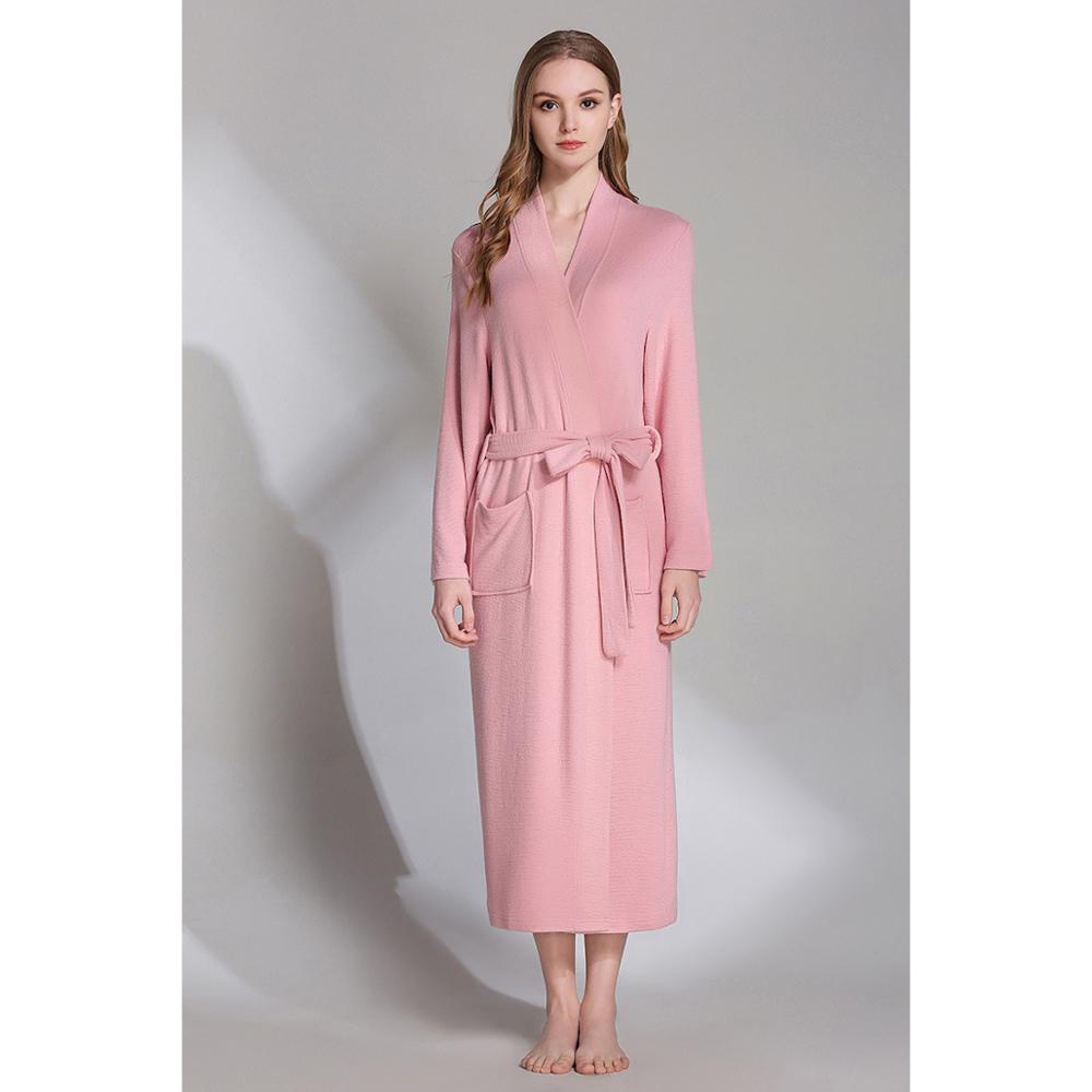 Sleepwear Robes Women's Bathrobes Warm Robe Bathrobe Female Or Women Night Negligee For Women Sexy Robe Warm Long Dressing Gowns