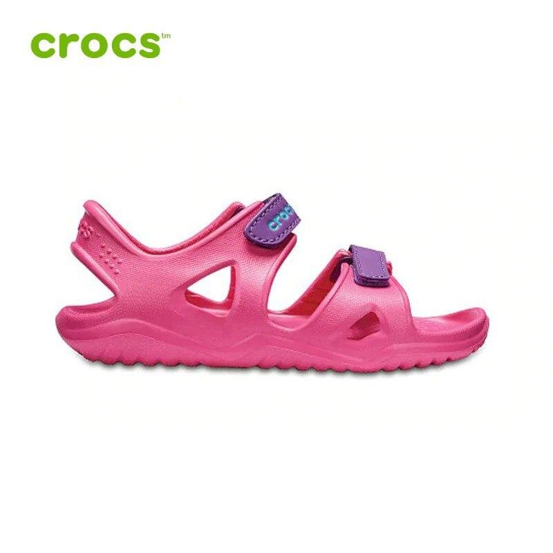 Crocs Kids Boys and Girls Swiftwater River Sandal