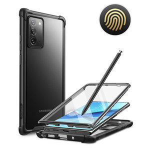 Чехол для Samsung Galaxy Note 20, 6,7 дюйма (2020), чехол с полным покрытием Clayco Forza, Встроенная защитная пленка, совместима с идентификацией отпечатков пал...