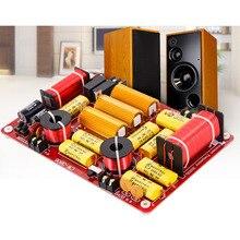 3 полосный звуковой разделитель частоты динамика, 3 элементные фильтры кроссовера 600 Вт для автомобильной домашней аудиосистемы