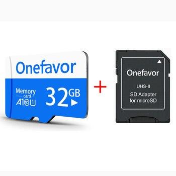 Onefavor TF بطاقة فلاش A1 بطاقة الذاكرة 128 جيجابايت 64 جيجابايت 32 جيجابايت 16 جيجابايت 8 جيجابايت مايكرو SD بطاقة Class10 UHS-1 ذاكرة فلاش بطاقة ذاكرة SD بطاقة...