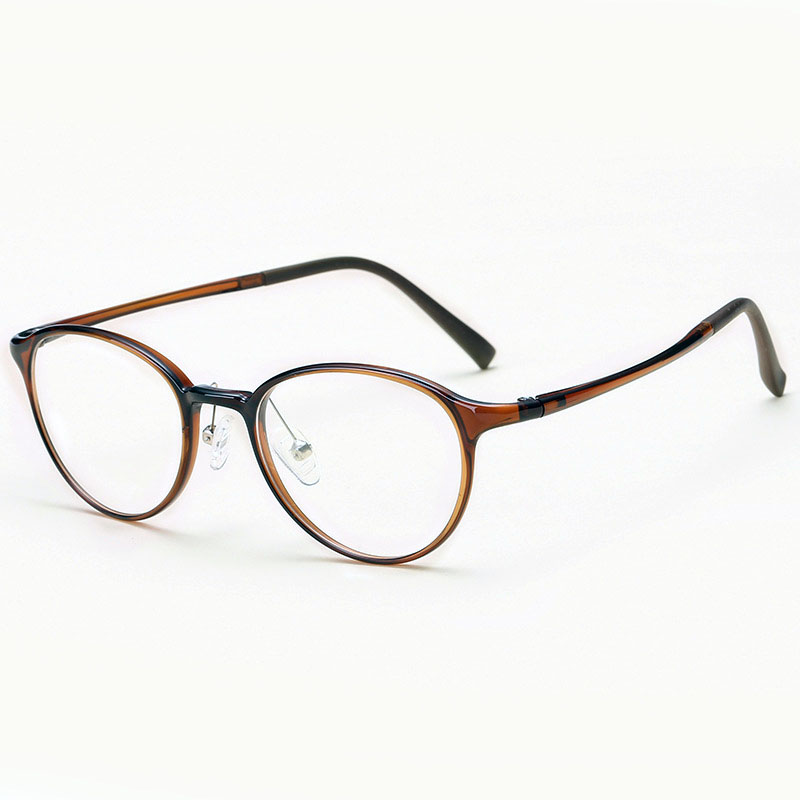 TR90 Glasses Frame Plastic Titanium Round Design Women Gafas Eyewear Prescription Optical