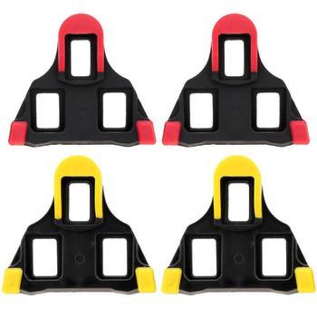 Juego de 2 tacos de Pedal autoblocantes para bicicleta, color amarillo, para...