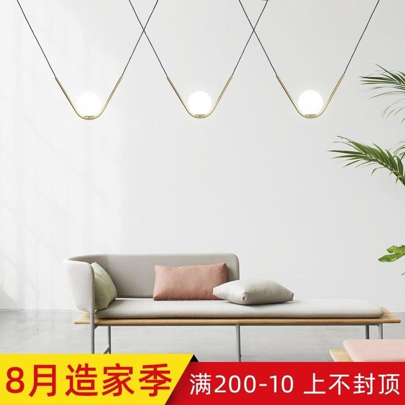 Modern Copper Sliver Shade Mirror Chandelier Light E27 LED Pendant Lamp Modern Christmas Glass Ball Lighting