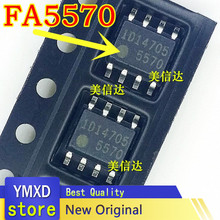 10 pçs/lote FA5570N 5570 Original Novo LCD Chip de Gerenciamento de Energia Patch SOP8