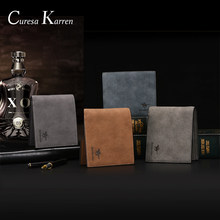 Card Holder Men Wallets Money Bag Retro short purse Genuine Leather fashion Multi-functional large capacity top Card package(China)