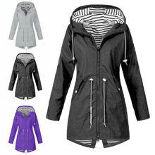 Plus size Women Coat Fashion Women Winter Military Coat Long Warm Trench Hooded
